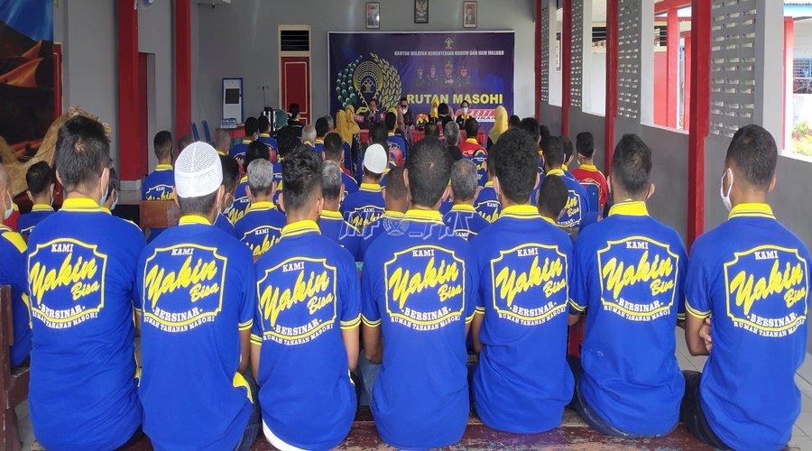 WBP Rutan Masohi Ikuti Edukasi Kesehatan Tubuh & Lingkungan