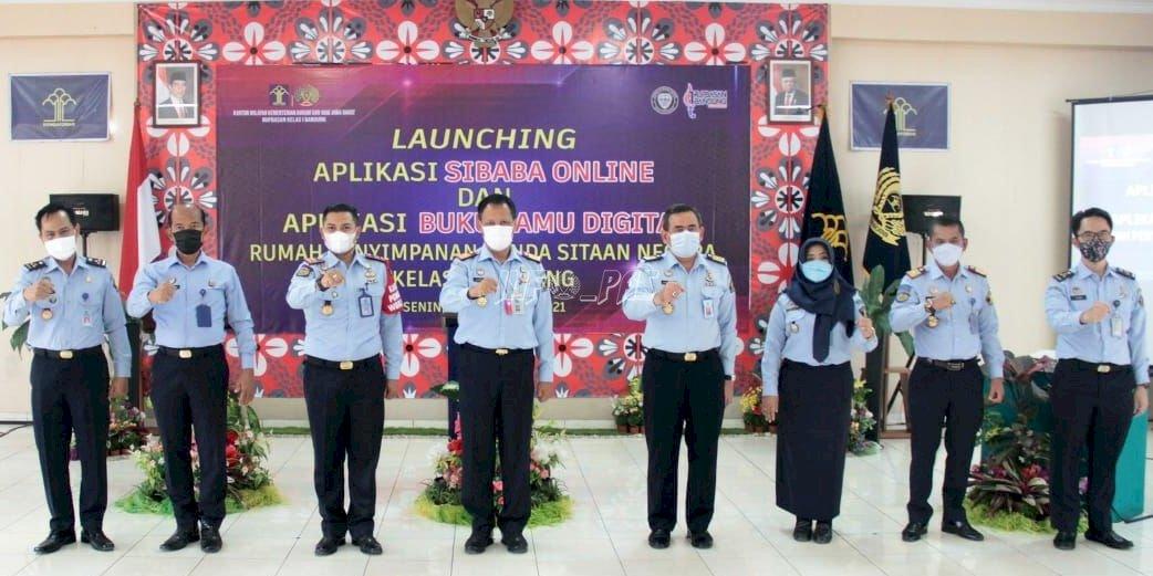 Rupbasan Bandung Luncurkan Aplikasi Sibaba Online & Buku Tamu Digital
