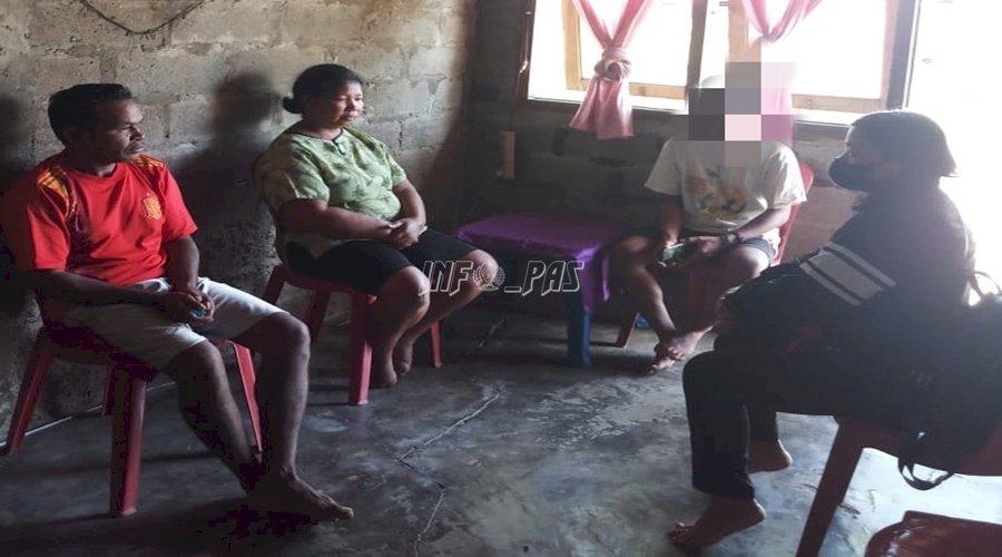 Dampingi ABH, PK Bapas Ambon Terapkan Keadilan Restoratif