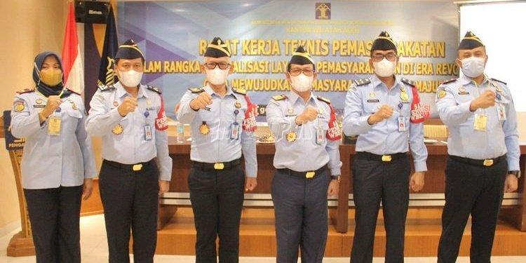 Hadiri Rakernis Kanwil Aceh, Ini Paparan Kalapas Lhoksukon