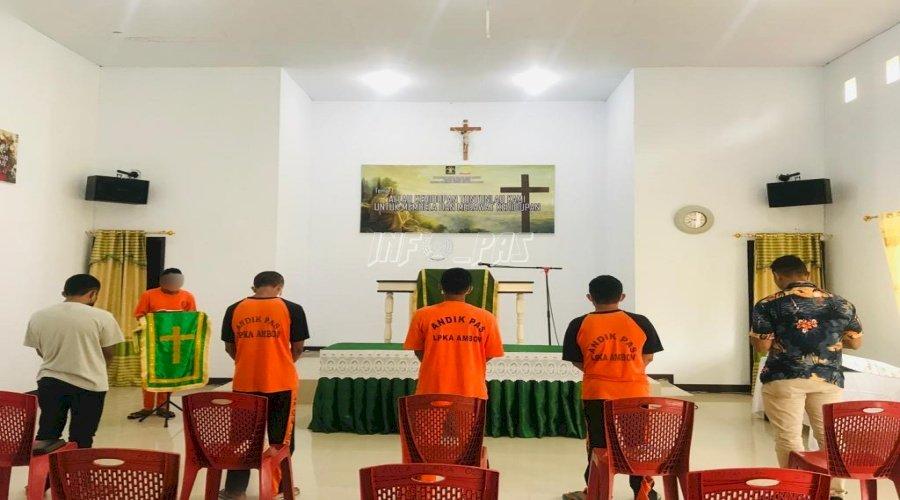 Tingkatkan Kepribadian, Anak LPKA Ambon Dilatih Pimpin Ibadah