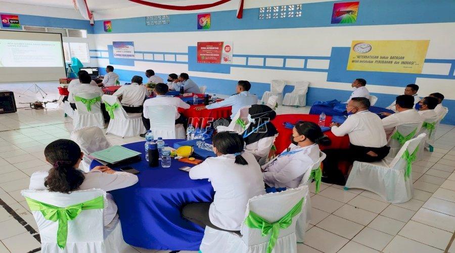 Jajaran Lapas Kupang Ikuti Pelatihan Bersama UNODC