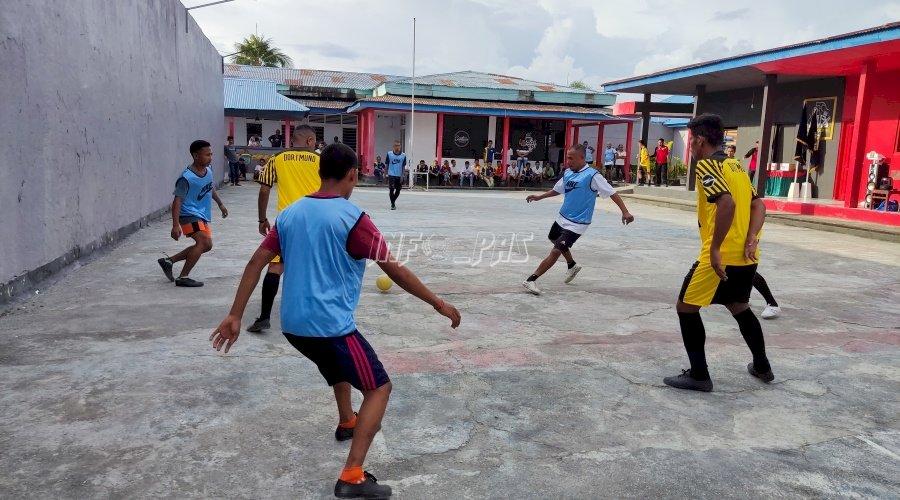 Rutan Masohi Gelar Pertandingan Futsal