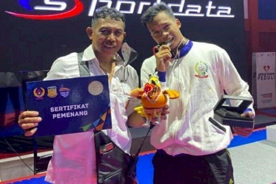 Petugas Lapas Makassar Raih Medali Perak Karate di PON XX Papua