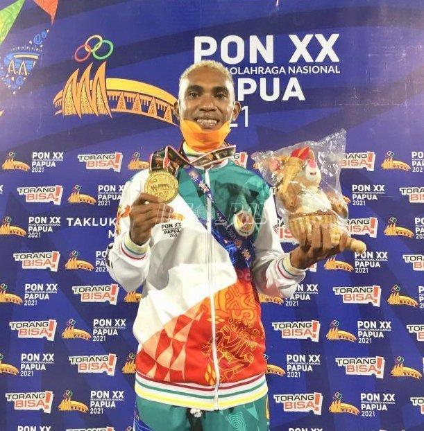 Petugas LPN Jayapura Sumbang Emas Cabang Hoki di PON XX Papua